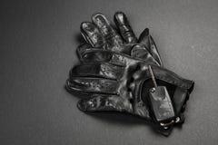Car keys and driving gloves Royalty Free Stock Photo