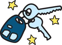 Car Keys Stock Photography
