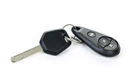 Car keys isolated on white Stock Photography