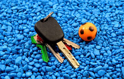Car keys Stock Images