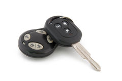Car keys with remote control Royalty Free Stock Image