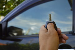 Car keys remote control stock photography