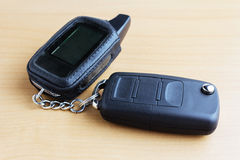 Car keys with remote control Royalty Free Stock Photography