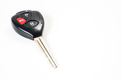 Car keys remote on isolated white background Stock Image
