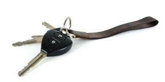 Car keys. Car keys remote for security Royalty Free Stock Photo