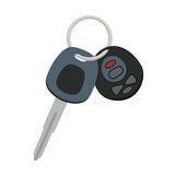 Car keys vector icon design. Auto lock opener and signaling keyc Royalty Free Stock Image