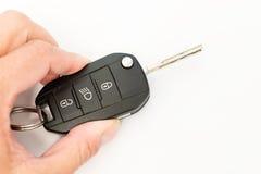 Car keys. View detail of some car keys Royalty Free Stock Images