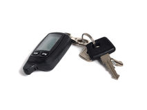 Car Keys With Alarm Stock Image