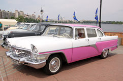 GAZ 13 Chaika (Soviet-made limousine) Stock Image