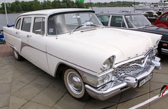 GAZ 13 Chaika (Soviet-made limousine) Stock Photo