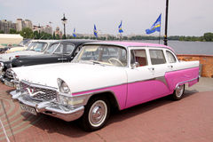 GAZ 13 Chaika (Soviet-made limousine) Royalty Free Stock Photos