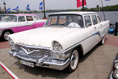 GAZ 13 Chaika (Soviet-made limousine) Royalty Free Stock Image