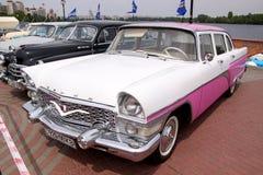 GAZ 13 Chaika (Soviet-made limousine)  Royalty Free Stock Image