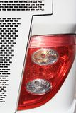 Car lamp and Brake lights Stock Photo