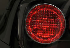 Car lamp close-up Stock Image