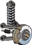 Car suspension Royalty Free Stock Image