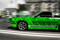 car leaf Stock Image