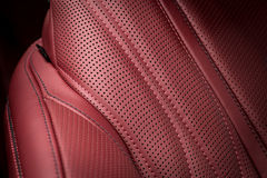 Car leather background. Stock Image