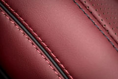 Car leather background. Royalty Free Stock Images