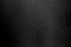 Car leather black upholstery background. Art Royalty Free Stock Photo