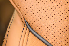 Car leather. Interior detail. Stock Images