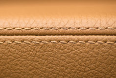 Car leather material. Royalty Free Stock Photos