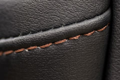 Car leather material. Royalty Free Stock Images