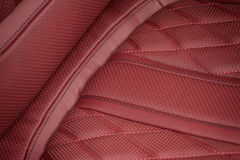 Car leather material. Stock Photography