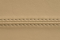 Car leather seat background . Royalty Free Stock Photography