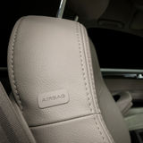 Car leather seat detail. Stock Photography