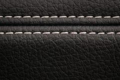 Car leather texture background. Modern car leather texture background. Interior detail Stock Photos