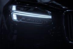 Car LED headlight Royalty Free Stock Photos