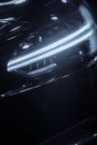 Car LED headlight Royalty Free Stock Image