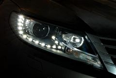 Car led headlight Stock Images