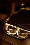 Car LED headlight Royalty Free Stock Images