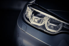 Car LED headlight Royalty Free Stock Photos