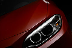 Car LED headlight Royalty Free Stock Photography