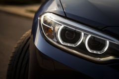 Car LED headlight Stock Photos