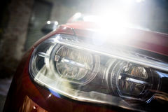 Car LED headlight Royalty Free Stock Photo