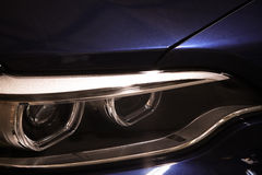 Car LED headlight Stock Photography