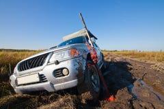 Car lifting Stock Images