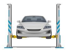 Car lifting Royalty Free Stock Image