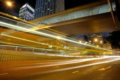 Car light in city Stock Photos