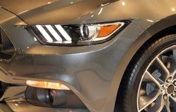Car light close-up Stock Photography