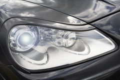 Car light headlight concept Royalty Free Stock Photos