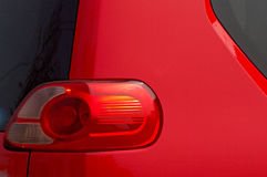 Car light of red color Royalty Free Stock Image