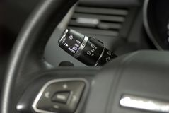 Car lighting switch Royalty Free Stock Images