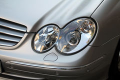 Car lights.  Stock Photography