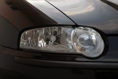 Car lights. Close up a Alfa Romeo 147 lights Royalty Free Stock Photos