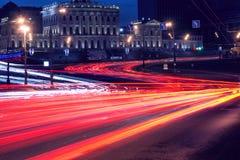 Car lights. Stock Image